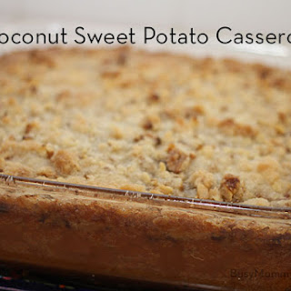 Coconut Sweet Potato Casserole
