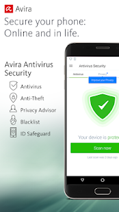 Avira Antivirus Security Screenshot
