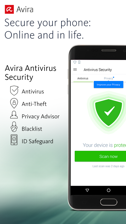 Avira Antivirus Security- screenshot