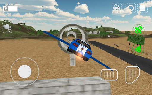 Flying Car Driving Simulator 1.04 Cheat screenshots 2