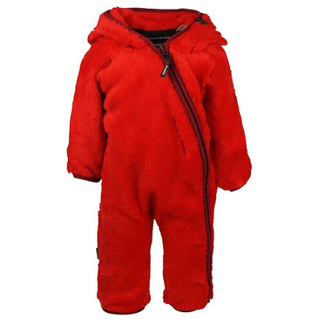 Isbjörn of Sweden Fleece High Loft Jumpsuit Red