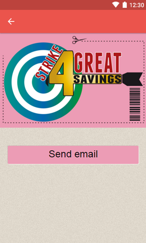Strike4GreatSavings- screenshot