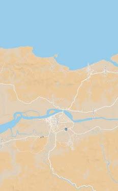 Mapa Dawei