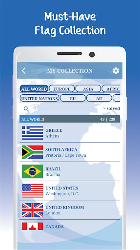 The Flags of the World u2013 Nations Geo Flags Quiz 5.1 screenshots 23
