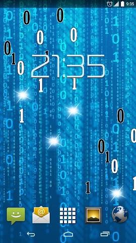 android Matrix HD Live Wallpaper Screenshot 4