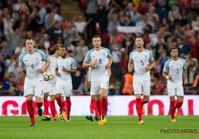 L'Angleterre, adversaire des Diables au Mondial, révèle sa liste de 23!