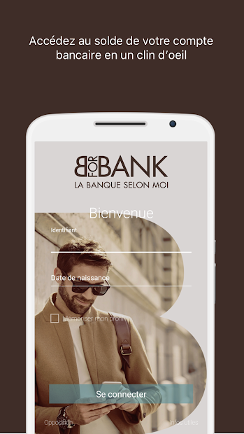 BforBank, Banque mobile Android App Screenshot