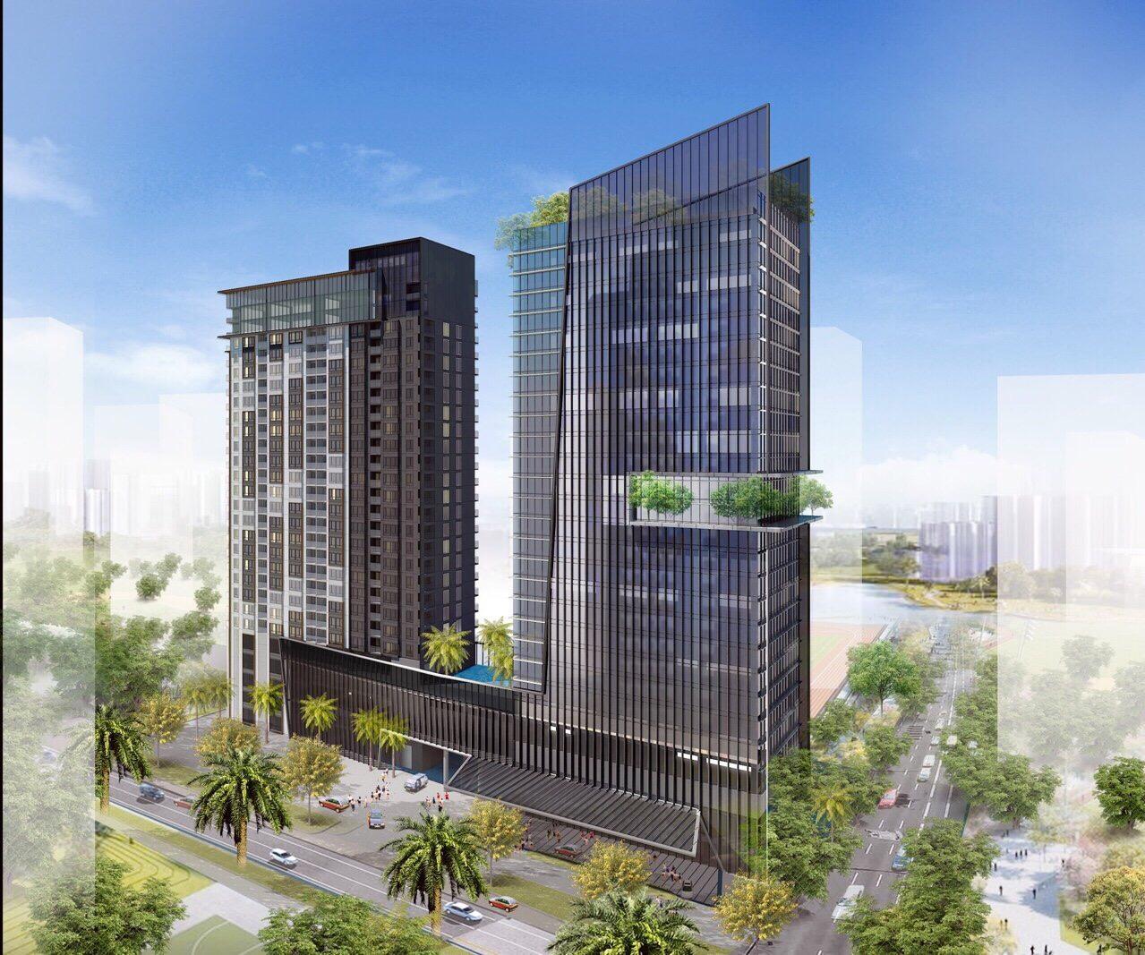 dự án cao ốc 152 điện biên phủ