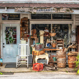 THE MERCANTILE by Dana Johnson - Buildings & Architecture Other Exteriors ( general store, mercantile, antiques, building, architecture )