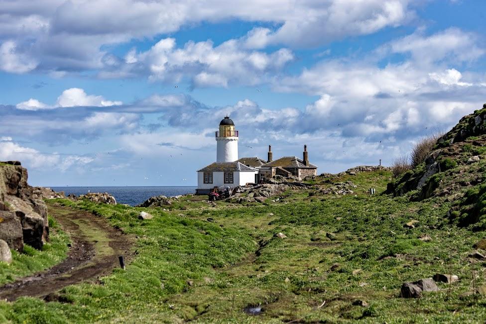 Isle of May, latarnia morska, Szkocja