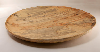 "Photo: Mike Colella 18"" platter [box elder]"