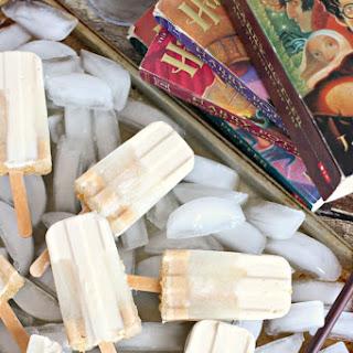 Frozen Butterbeer Popsicles Recipe