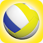 Volleyball Spike: two player physics game
