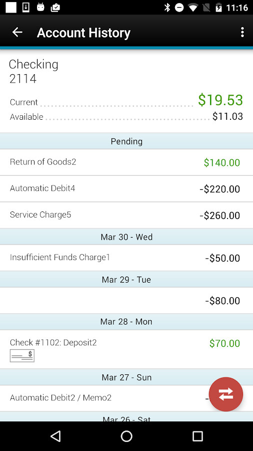 FNB Bank Mobile Banking- screenshot