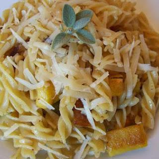 Fusilli With Roasted Delicata Squash & Fresh Sage Brown Butter