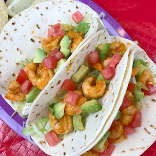 Easy Shrimp Tacos.