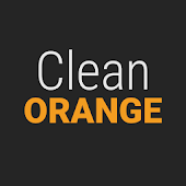 GO Contacts Clean Orange