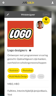 JobTalk … vacatures swipen- screenshot thumbnail