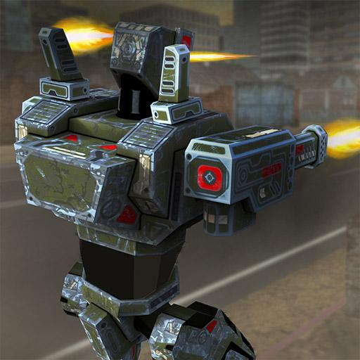 US Army Superhero Robot Transformation