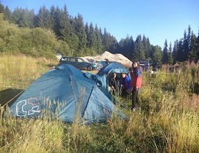 Photo: 4-Бяхме единствените, нощували на палатки