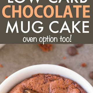 Healthy Chocolate Mug Cake Recipes