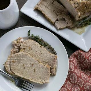 Pressure Cooker Pork Loin Roast.