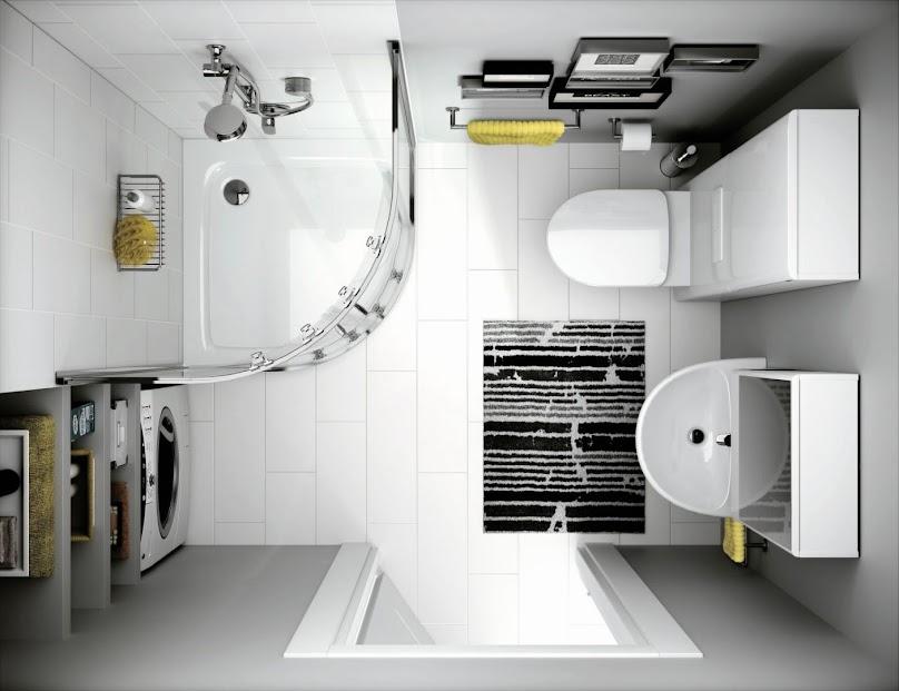 Urządzanie niewielkiej łazienki w domu lub mieszkaniu
