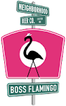Neighborhood Boss Flamingo