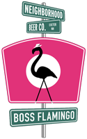 Logo of Neighborhood Boss Flamingo