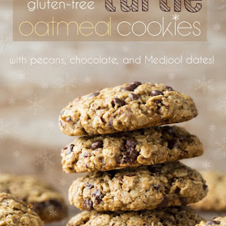 "Vegan ""Turtle"" Oatmeal Cookies."