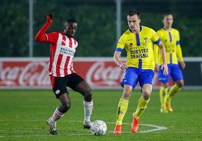 Premier but du jeune belge Emmanuel Matuta, deux assists pour Johan Bayakoko avec le Jong PSV