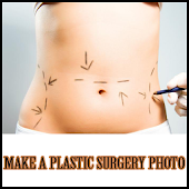 Make a plastic surgery