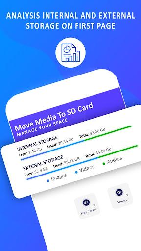 Move Media Files to SD Card: Photos, Videos, Music screenshots 1
