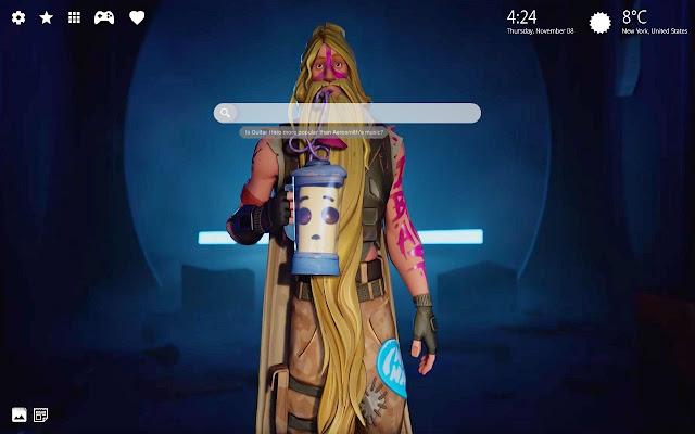 Bunker Jonesy Thor Fortnite Skin Hd Wallpaper