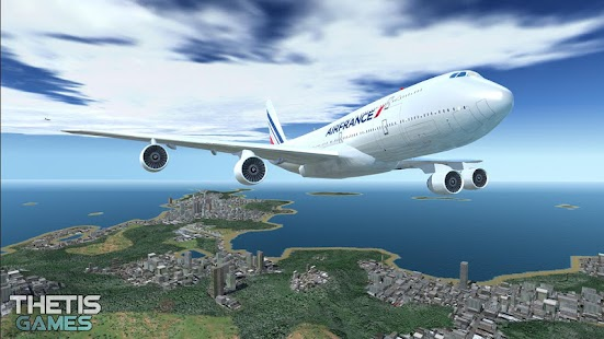 Flight Simulator 2017 FlyWings HD Screenshot