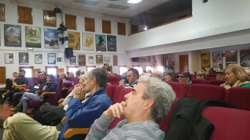 La Casa de la Cultura de Serón acogió la Jornada Informativa en Defensa del Agua.