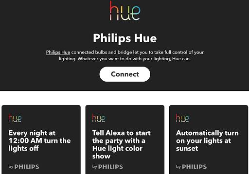Philips Hue et IFTTT