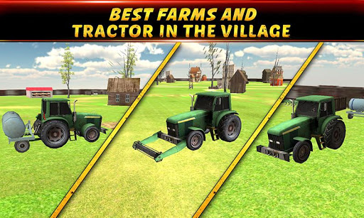Farming Simulator Tractor Run