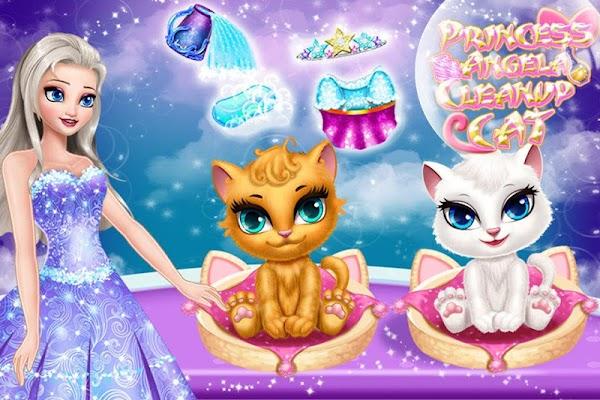 Princess Angela Clean up Cat 2 - screenshot