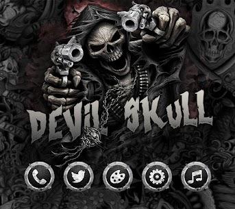Hell Devil Death Skull Theme 4
