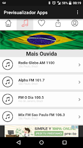Rádios do Brasil screenshot 2