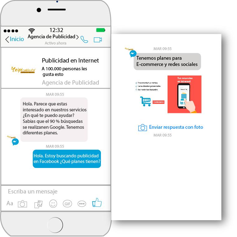 Yeipi Publicidad: ¿Qué Son Los Anuncios Facebook Messenger?