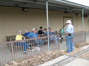 Photo: The train watchers