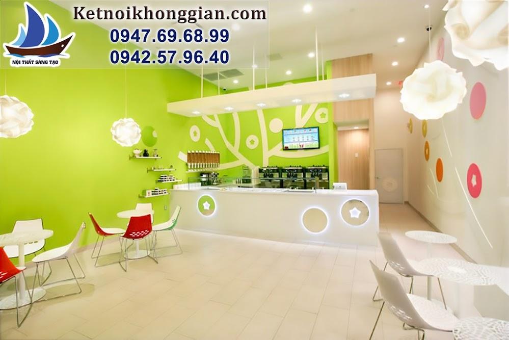 thiết kế cửa hàng ăn nhanh đẹp nhất Hà Nội