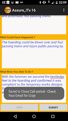 android Close Call Beta Screenshot 4