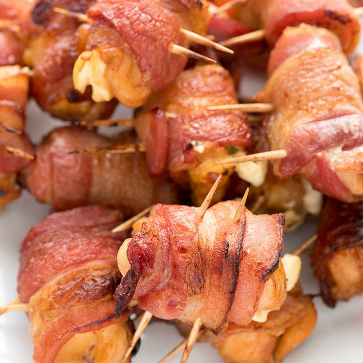 Bacon Wrapped Chicken Poppers Recipe