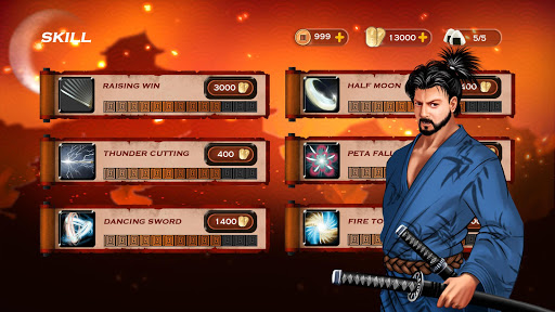 Code Triche Samurai 3: RPG Action Combat - Warrior Crush apk mod screenshots 5