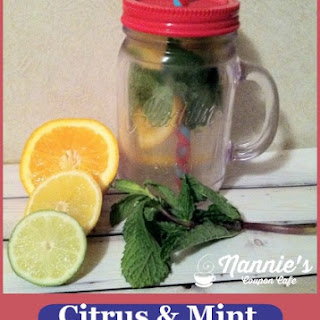 Citrus & Mint Infused Water