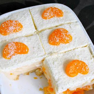 Easy Mandarin Dessert.