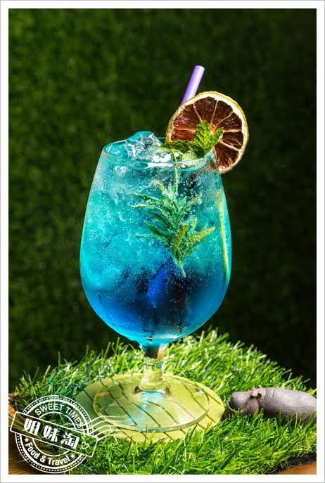 義食光藍色珊瑚礁